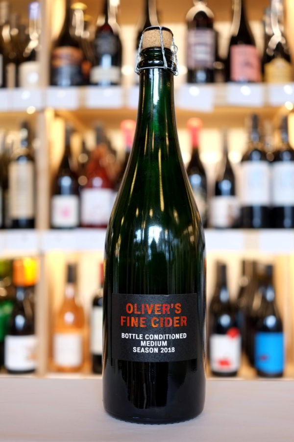Bottle Conditioned Medium, Oliver's Fine Cider